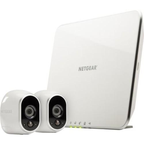 NETGEAR Arlo Smart Home Security Wirefree 2 Camera Kit