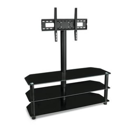 Calico Designs Artesia 38 in. Wide x 23.25 in. Deep x 22 in. High Black TV Stand - Black