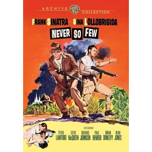 Never So Few [DVD] [1959]