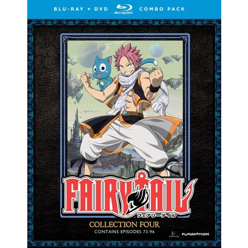 Fairy Tail: Collection Four [8 Discs] [Blu-ray/DVD]
