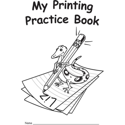Edupress My Own Books My Printing Practice Book