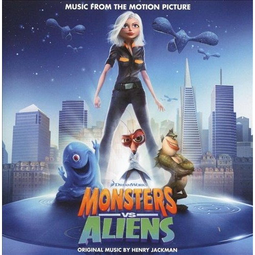 Monsters vs. Aliens [Music from the Motion Picture] [CD]