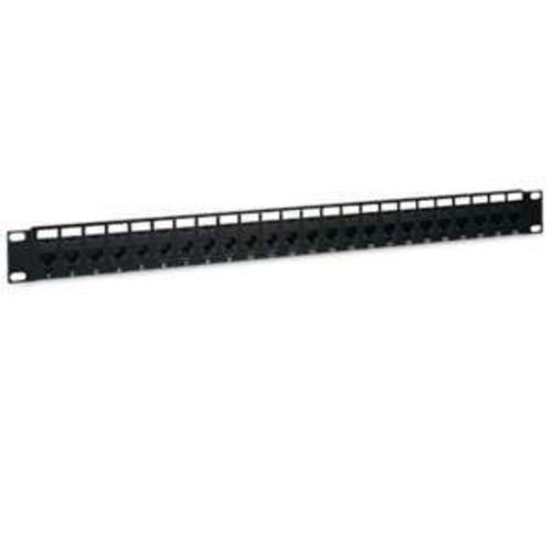 Tripp Lite Tripp Lite 24-Port Cat5e Cat5 Feedthrough Patch Panel Rackmount 1URM RJ45 Ethernet (N054-024)